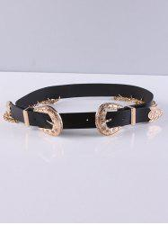 Trousers Wear Chain Tassel 2 Buckle Belt