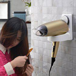 Durable Removable Vacuum Strong Suction Cup Hair Dryer Holder -