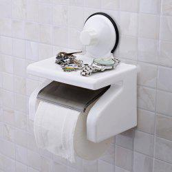 Durable Vacuum Strong Suction Cup Toilet Roll Paper Holder -