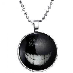 Were Ah Mad Here Halloween Necklace - SILVER