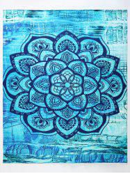 Large Floral Hippy Yoga Mat Throw Tapestry Beach Throw -