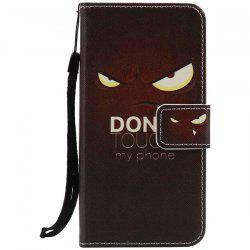 Eyes Letter PU Wallet Design Phone Case For iPhone 7 -