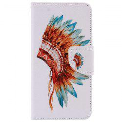 Wallet Design Indian Hat Phone Case For iPhone 7 Plus -