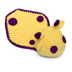 Newborn Baby Little Cow Knitted Blanket Photography -