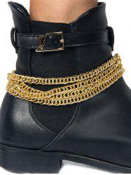 Wrap Twist Chain Boot Anklet -