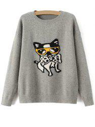 Puppy Pullover Sweater -