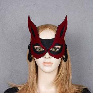 Fox Hollow Out Party Halloween Mask