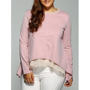High-Low Layered Blouse
