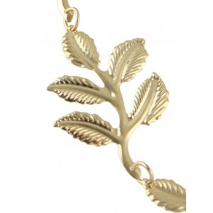 Tree Leaf Embellished Hair Accessory -