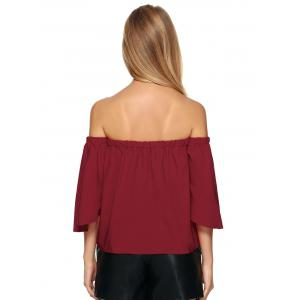 Off The Shoulder Ruffle Top -
