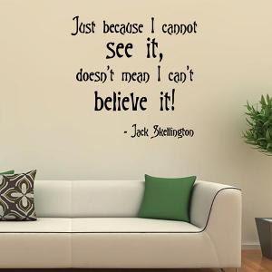 Removable Famous Quotes Wall Stickers -