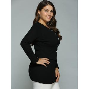 Buttoned Cardigan and Bodycon Tank Dress -