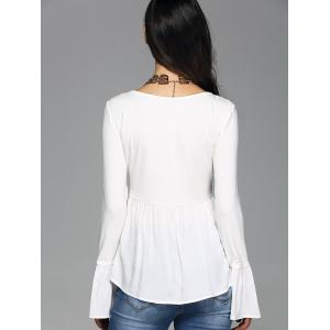 Bell Sleeve Scoop Neck Tee -