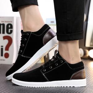 Suede Lace Up Casual Shoes -