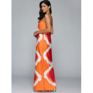 Tie Dye Beach Bandeau Tube Top Maxi Dress -