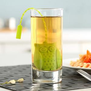 Creative Cartoon Owl Shape Silicon Tea Infusers -