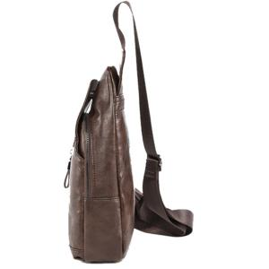 PU Leather Chest Bag -