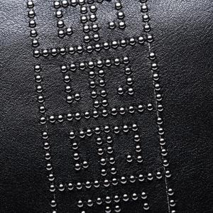 Wristlet Rivet Business Clutch Bag -