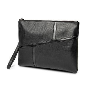 Couleur Scissor Wristlet Clutch Bag - Noir