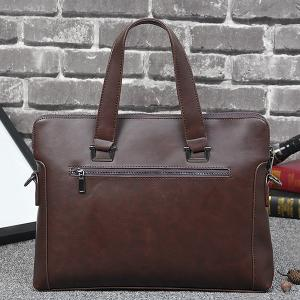 PU Leather Briefcase -