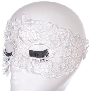 Gothic Style Hollow Out Lace Party Mask -