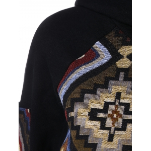 Geometric Pattern Hoodie - COLORMIX 2XL