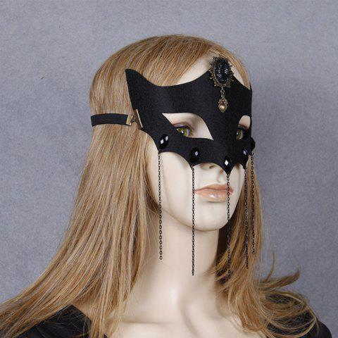 Masque Fox Coeur Elastic Band Hair Halloween