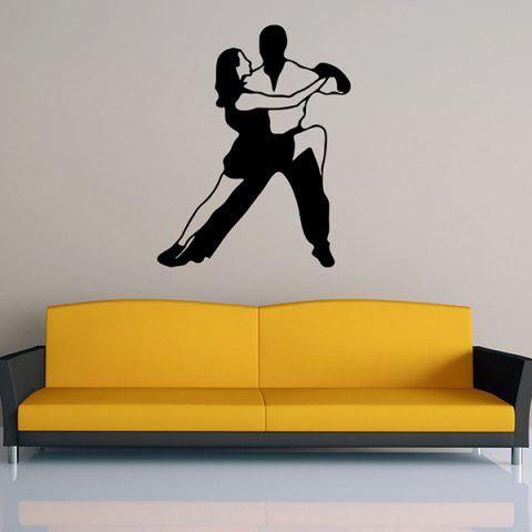 Online Removable Waterproof Dance Carved Art Wall Stickers