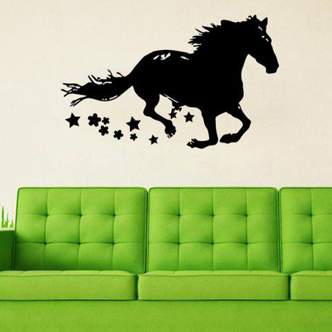 Affordable Removable Waterproof Courser Carved Art Vinyl Wall Stickers Custom BLACK
