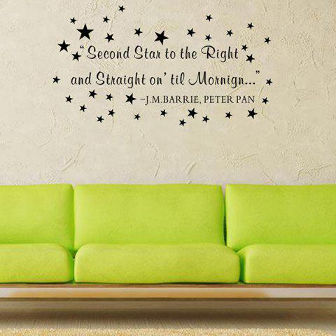 Online Removable Waterproof Children Room Stars Wall Stickers
