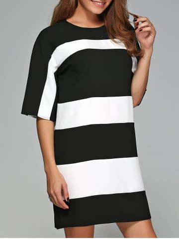 Latest Striped Casual Dress