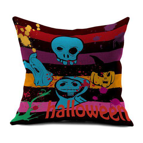 Outfits Halloween Imps Printed Sofa Cushion Pillow Case