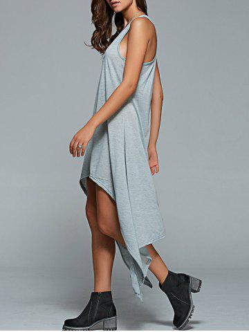 Chic Asymmetric Loose Casual Dress