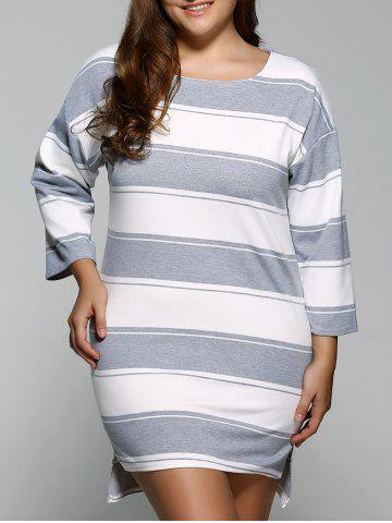 Affordable Striped Casual Straight Dress