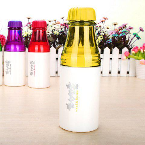 Chic Portable 250ML Silicone Sealing Up Water Bottle