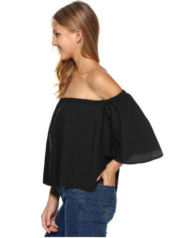 Off The Shoulder Ruffle Top от Rosegal.com INT