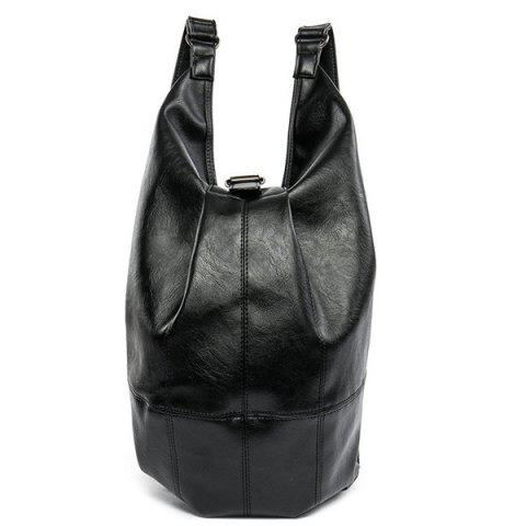 New PU Leather Convertible Backpack