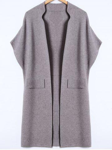 Trendy Bat-Wing Sleeve Loose Cashmere Cardigan