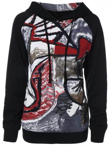 Fashion Graffiti Pattern Hoodie