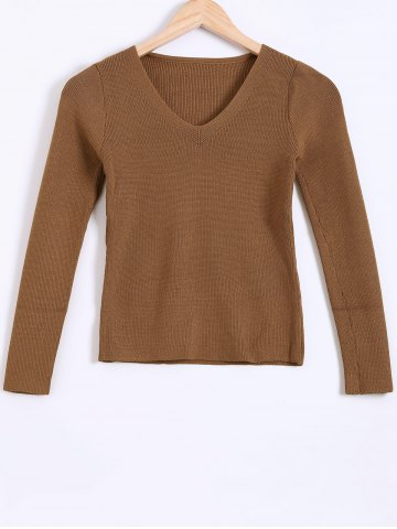 Outfits Ribbed Textured Slimming Knitwear