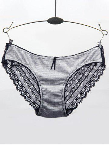 Outfit Lace Openwork Low Waist Briefs