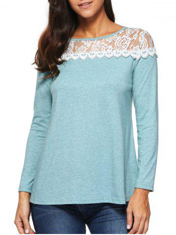 Outfit Lace Long Sleeve T-Shirt