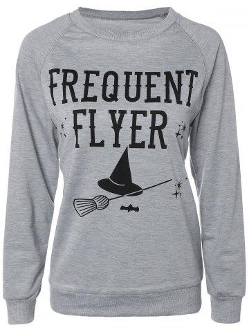 Trendy Casual Long Sleeve Letter Sweatshirt