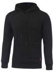 Mesh Splicing Reflect Light Letter Hooded Long Sleeve Hoodie -
