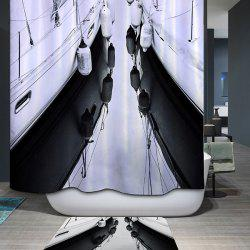 High Quality Waterproof Mouldproof Printed Shower Curtain