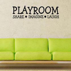 Removable Waterproof Playroom Vinyl Wall Stickers Custom