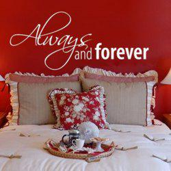 Vinyl Art Proverbs Waterproof Removable Wall Stickers
