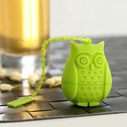 Creative Cartoon Owl Shape Silicon Tea Infusers
