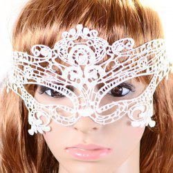 Gothic Style Hollowed Lace Party Mask