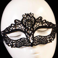 Hollowed Lace Party Mask